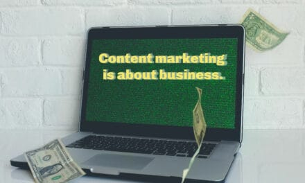 Let's get real: Content marketing is about business.