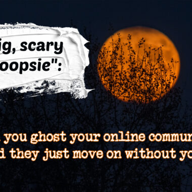 Fine Cooking ghosts its community; community responds
